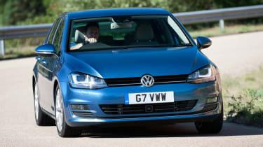 Volkswagen Golf 2013 front cornering