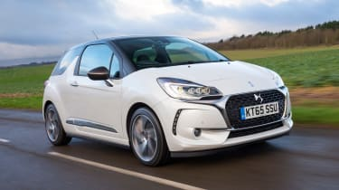 The DS 3 is available with a range of petrol and diesel engines offering economy or performance