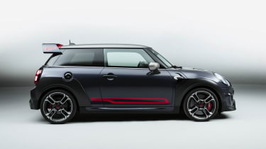 MINI John Cooper Works GP - side view studio