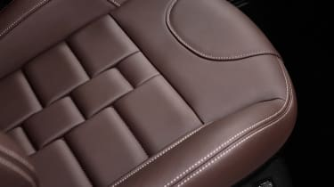 DS 3 Cafe Racer Nappa leather seat upholstery