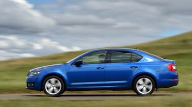 The Octavia shares many parts with the Volkswagen Golf and Audi A3 but costs less to buy than both of those cars.