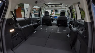 2019 Ford Galaxy - second and third seats folded flat