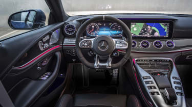Mercedes-AMG GT 63 dashboard, wide shot