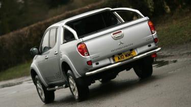 Mitsubishi L200 rear