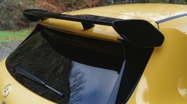 Mercedes-AMG A 45 S hatchback - rear spoiler