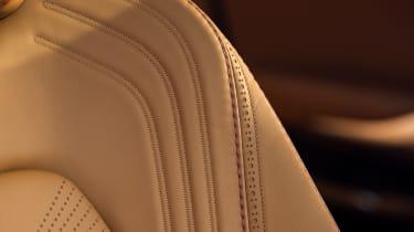 Aston Martin DBX seat detailing