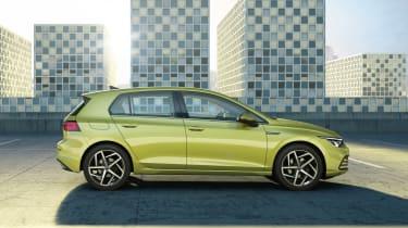 2020 Volkswagen Golf - side view