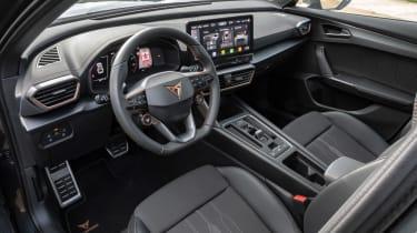 Cupra Formentor SUV review steering wheel