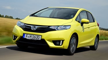 The Jazz is fitted with a 1.3-litre petrol engine producing 101bhp, with either a manual or CVT automatic gearbox