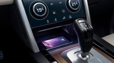 2020 Land Rover Discovery Sport lower centre console