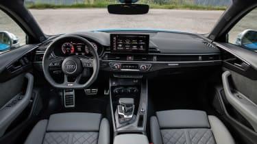 Audi S4 saloon interior