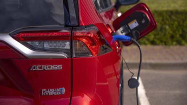 Suzuki Across SUV charging cable