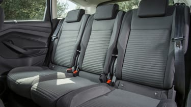 ISOFIX child-seat mounts are fitted, too