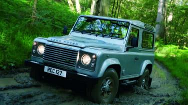Land Rover Defender front