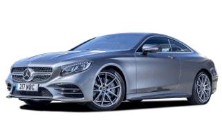 Mercedes S-Class coupe cutout