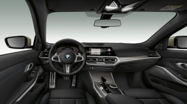 2019 BMW M340i xDrive interior