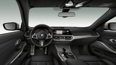 2019 BMW M340i xDrive interior