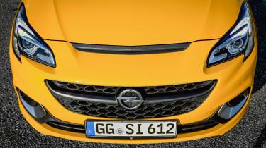 Vauxhall Corsa GSI bonnet vent