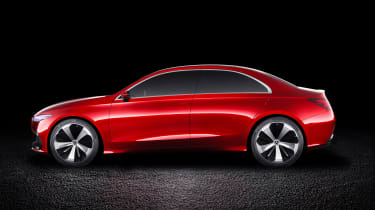 Mercedes has already said it'll add three new models to its compact car line-up by 2020. This will be one