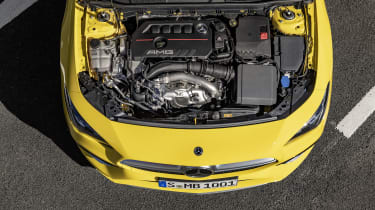 Mercedes-AMG CLA 35 - engine bay static