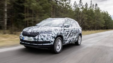 The Skoda Karoq is the more straight-cut replacement for the popular Yeti compact SUV