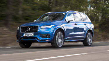 Volvo XC90 - front 3/4 view dynamic