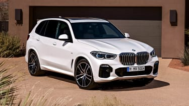 BMW X5 static front three-quarter