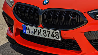BMW M8 Competition coupe grille