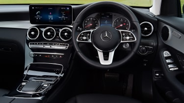 Mercedes GLC SUV interior