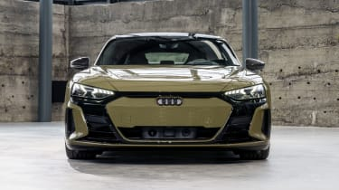 Audi RS e-tron GT in brown - front end