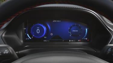 Ford Puma SUV digital instruments