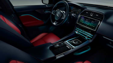 Jaguar F-Pace Chequered Flag Edition interior