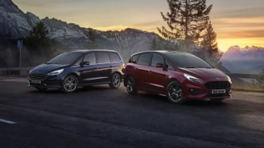 Ford S-MAX and Galaxy hybrids