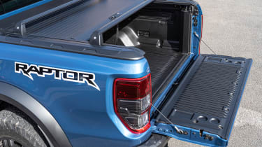 Ford Ranger Raptor pickup load bed