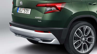 Skoda Karoq Scout rear bumper