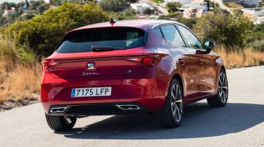 2020 SEAT Leon - rear 3/4 view