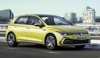 Volkswagen Golf mk8 - driving