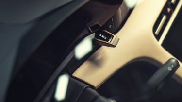2020 Porsche Taycan - drive toggle switch
