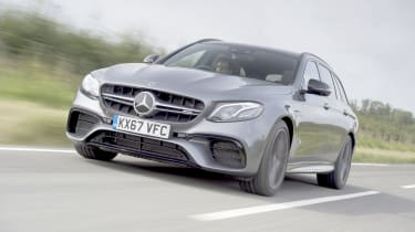 It fuses the same massively powerful twin-turbo V8 engine with estate car practicality