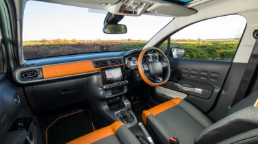 Citroen C3 Flair hatchback front seats