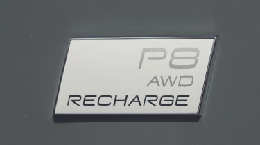 Volvo XC40 Recharge P8 SUV badge