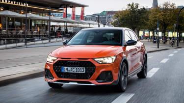 Audi A1 Citycarver hatchback urban driving