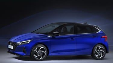 New Hyundai i20 leaked - side view