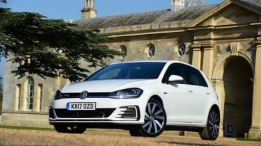 The GTE is Volkswagen's plug-in hybrid Golf