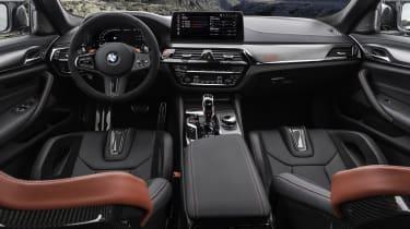 2021 BMW M5 CS - interior