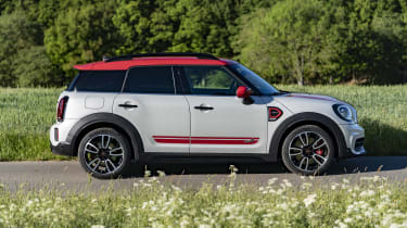 2020 MINI Countryman John Cooper Works side view