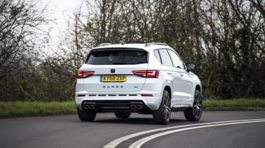 Cupra Ateca SUV - rear dynamic cornering