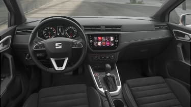 The Arona's dashboard is neatly designed and well equipped, but rather lacking in style and flair