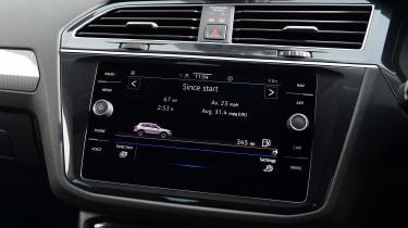 Volkswagen Tiguan SUV dashboard