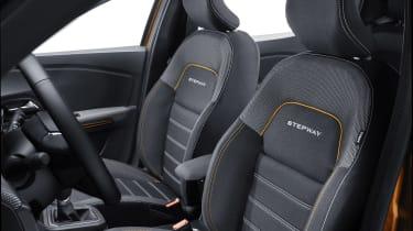 New Dacia Sandero Stepway upholstery